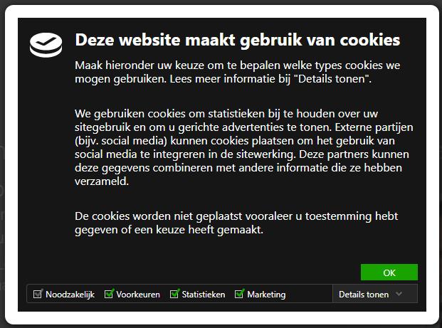 Hoe op je site Analytics cookies blokkeren tot je toestemming krijgt om ze te plaatsen?